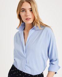 1f5f423c Haze Linen Longline Shirt. $105. Phase Eight · Phase Eight - Brogan Shirt -  Lyst