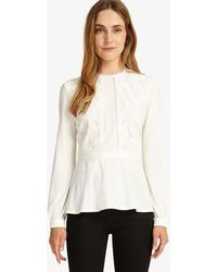 Phase Eight - Victoriana Top - Lyst