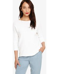Phase Eight - Piera Plain Knit Top - Lyst