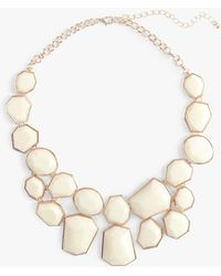 Phase Eight - Elsa Geo Shape Collar Necklace - Lyst