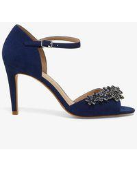 Phase Eight - Eleonor Jewel Trim Sandals - Lyst