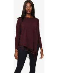 Phase Eight - Athena Tassel Knitted Jumper - Lyst