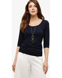 Phase Eight - Salina Scoop Neck Top - Lyst
