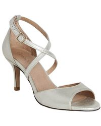 Phase Eight - Bronte Strappy Metallic Leather Sandals - Lyst