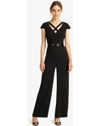 c923bda57662 Greylin. Leona V-neck Jumpsuit.  158. Cupcakes And Cashmere · Phase Eight -  Anya Belted Jumpsuit - Lyst