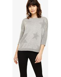 Phase Eight - Reilly Ripple Star Knitted Jumper - Lyst