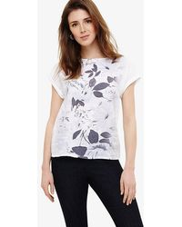 Phase Eight | Philomina Floral Printed Top | Lyst
