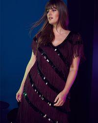 Phase Eight - Lottie Fringe Dress - Lyst