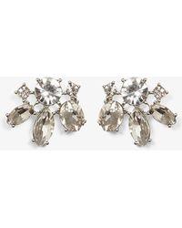 Phase Eight - Zarah Flower Stud Earrings - Lyst