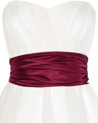 Phase Eight - Emilia Satin Sash - Lyst