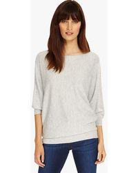 Phase Eight - Becca Spot Stitch Knit Top - Lyst