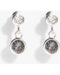 Phase Eight - Peyton Swarovski Stone Drop Earrings - Lyst