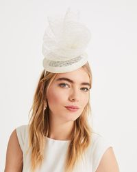 Phase Eight - Betsy Lace Top Pillbox Fascinator - Lyst