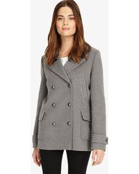 Phase Eight - Pippa Pea Coat - Lyst