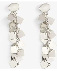 Phase Eight - Macia Square Jumble Drop Earrings - Lyst