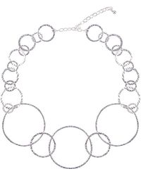 Phase Eight - Farah Rings Pendant Necklace - Lyst