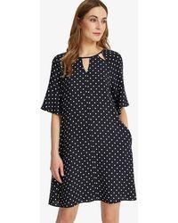Phase Eight - Zoe Spot Dress - Lyst