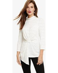 Phase Eight - Phoebe Print Top - Lyst