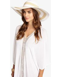 Phase Eight - Debbie Stripe Sunhat - Lyst