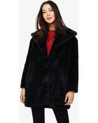 Phase Eight - Beckie Fur Coat - Lyst