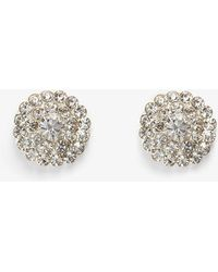 Phase Eight | Aideen Crystal Stud Earrings | Lyst