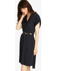Phase Eight - Yasmina Belted Dress - Lyst