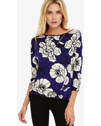 Phase Eight - Ianthe Floral Print Top - Lyst