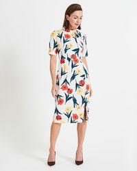 Phase Eight - Melinda Floral Printed Dress - Lyst