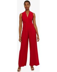 Phase Eight - Red Scarlet Tia Sleeveless Jumpsuit - Lyst