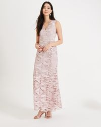 Phase Eight - Zoey Lace Maxi Dress - Lyst