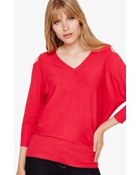 Phase Eight - Tie Back Knitted Jumper - Lyst