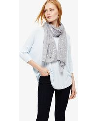 Phase Eight - Elin Foil Print Scarf - Lyst
