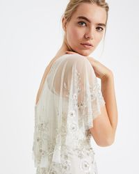 Phase Eight - Louise Beaded Wedding Dress - Lyst
