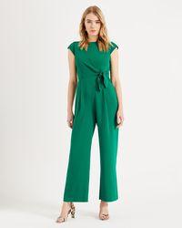 Phase Eight - Emerald Valentine Jumpsuit - Lyst