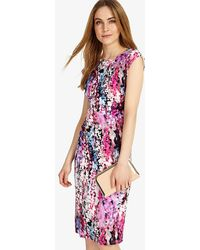 be47c41daad John Lewis Damsel In A Dress Bright Lights Structured Dress in Red ...