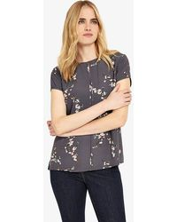 Phase Eight - Mia Blossom Print Blouse - Lyst