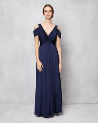 Phase Eight - Renee Cold Shoulder Full Length Dress - Lyst