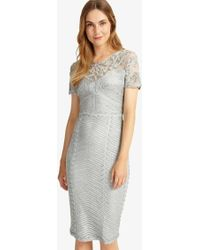 Phase Eight - Gianna Tapework Dress - Lyst