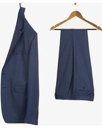 Burberry - Micro Dice Design Travel Suit Royal Blue - Lyst