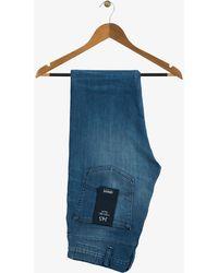Armani Jeans | J45 Light Wash Slim Fit Jeans With Metal Eagle | Lyst