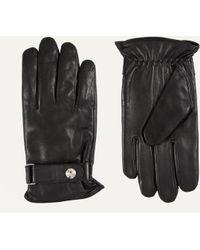 Ralph Lauren - Nappa Leather Gloves Black - Lyst