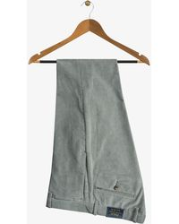 Ralph Lauren | Slim Fit Stretch Cords Grey | Lyst