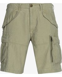 Ralph Lauren - Classic Fit Pocket Cargo Short Boating Khaki - Lyst