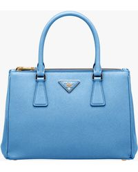 Prada - All Designer Products - Galleria Saffiano Leather Bag - Lyst