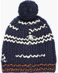 Prada | Cablé Wool Hat | Lyst