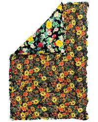 Preen By Thornton Bregazzi - Yellow Flower Bomb Quilted Eiderdown - Lyst