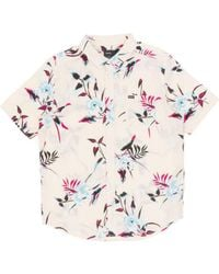 RVCA - Moonflower Short Sleeved Shirt - Lyst