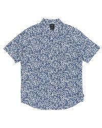 RVCA - Barrow Short Sleeved Shirt - Lyst