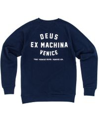 Deus Ex Machina - Venice Address Crew Sweatshirt - Lyst