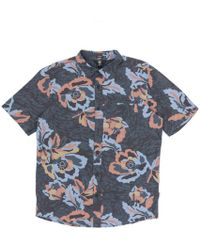 Volcom - Cubano Short Sleeved Shirt - Lyst